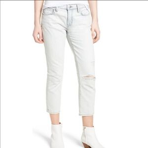 Current/Elliot The Cropped Straight Jean